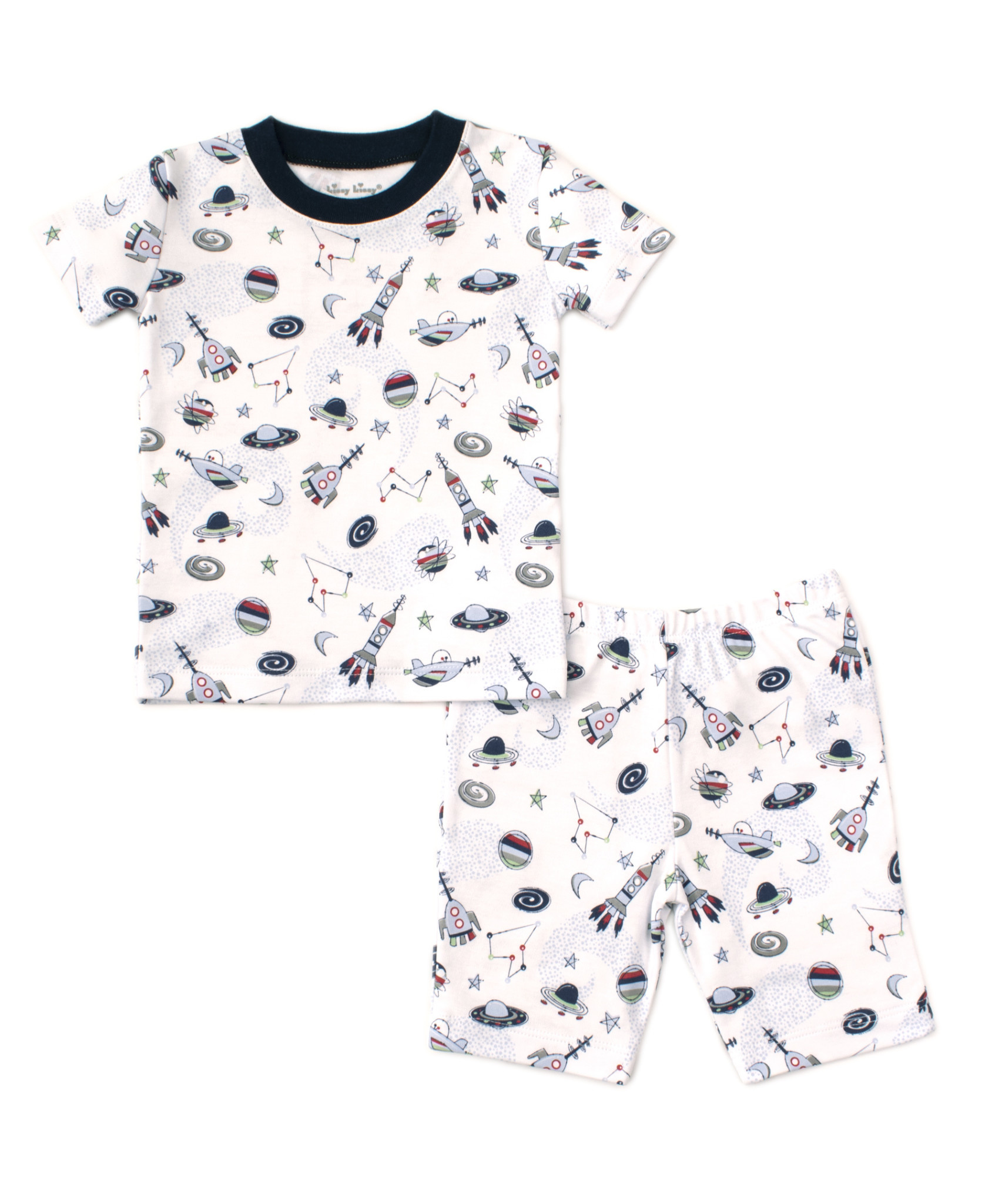Kissy Kissy Outer Space Short Pajamas