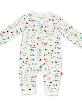Magnificent Baby ABC Love Coverall