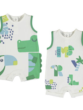 Mayoral 2 Piece Jungle Onesie Set