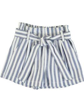 Mayoral Blue Stripes Shorts