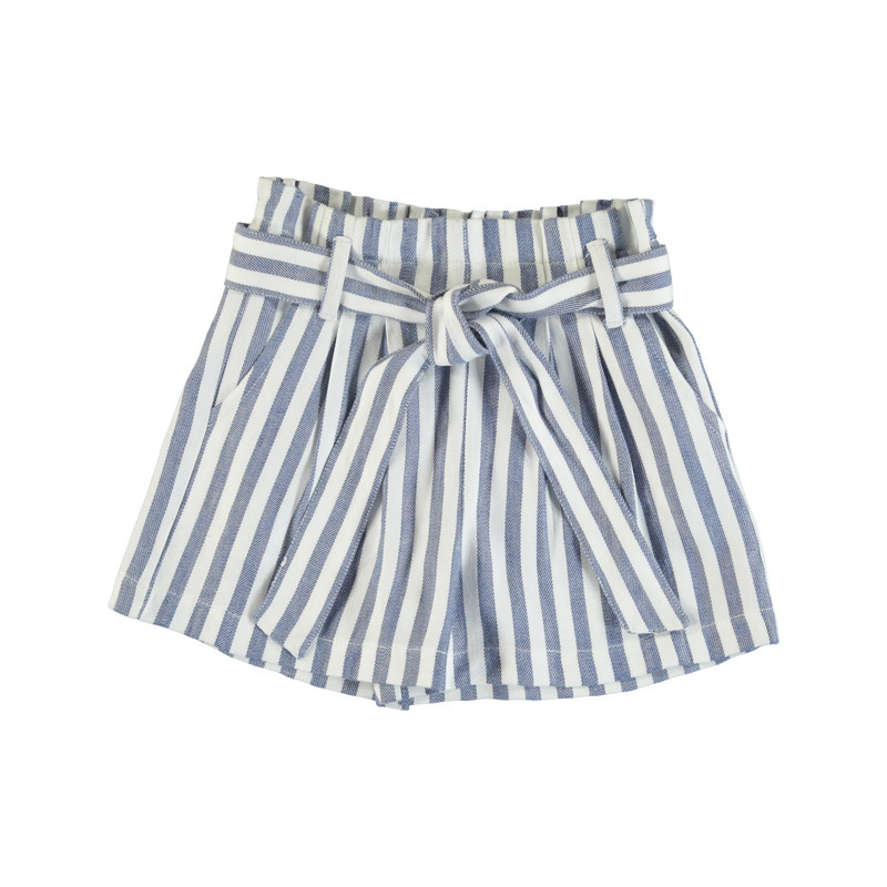 Mayoral Blue Stripes Shorts