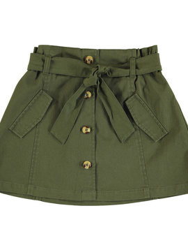 Mayoral Green Twill Skirt
