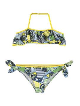 Mayoral Indigo Ruffle Bikini