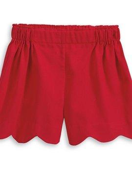 Bella Bliss Red Heart Pocket Short