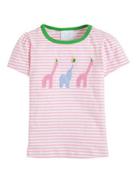 Little English Pink Party Animal Tee