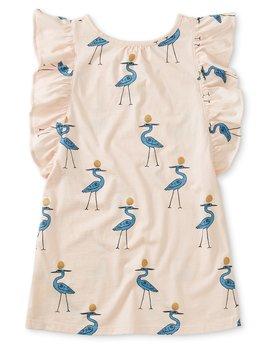 Tea Collection Scoop Back Ruffle Dress