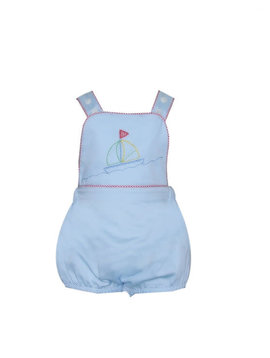 Lullaby Set Sammy Sailboat Embroidered Bubble