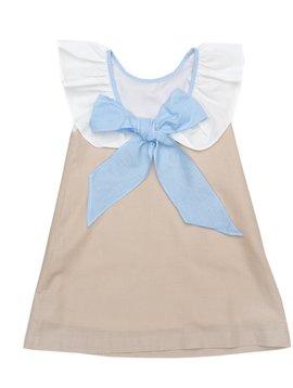 The Oaks Apparel Ally Kole Tan Linen Dress