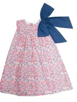 The Oaks Apparel Kolbi Poppy Bow Dress