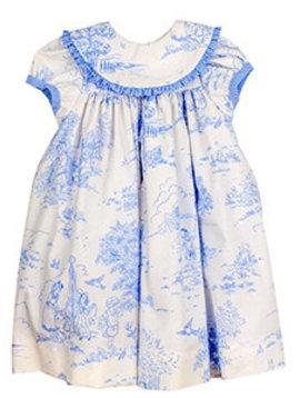 Bailey Boys Blue Belle Toile Float Dress