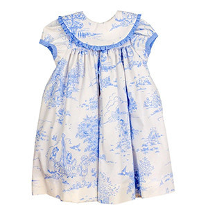 Bailey Boys Blue Belle Toile Float Dress