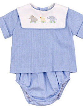 Bailey Boys Toying Around Diaper Cover Set