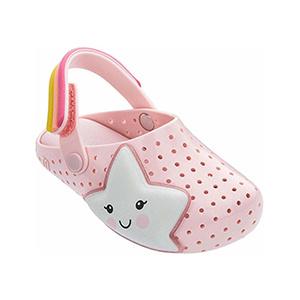 Mini Melissa Pink Star Sandal
