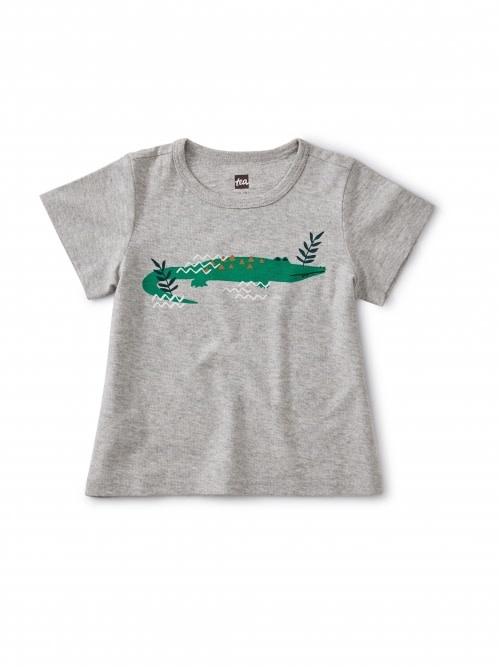 Tea Collection Curious Crocodile Tee