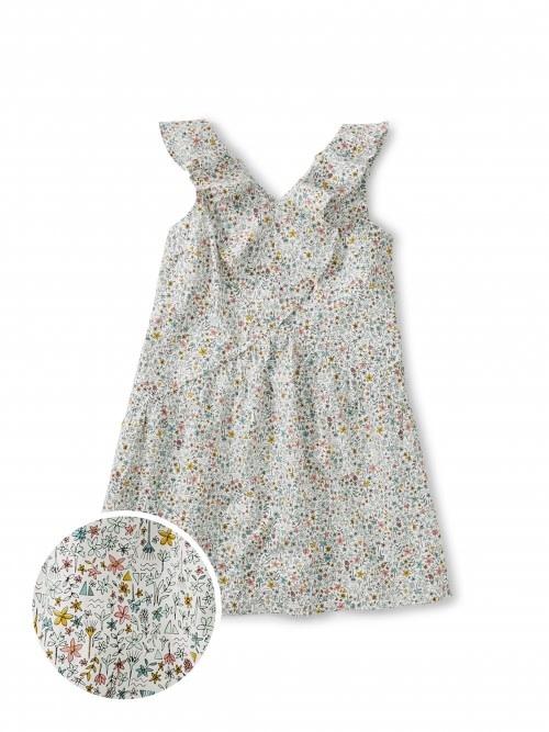 Tea Collection Nile Floral Ruffle Dress