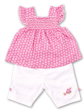 Kissy Kissy Whimsical Watermelons Capri Set