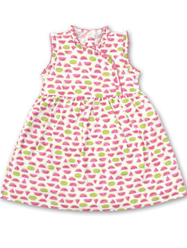 Kissy Kissy Whimsical Watermelons Dress