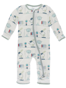 Kickee Pants Natural Chemistry Lab Coverall