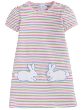 Little English Bunny T-Shirt Dress