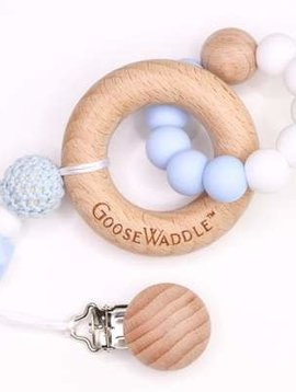 GooseWaddle Wooden/Silicone Teether