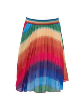 Lola & the Boys Rainbow Skirt