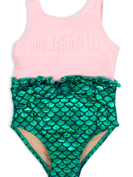 Shade Critters Mermaid Scale One Piece