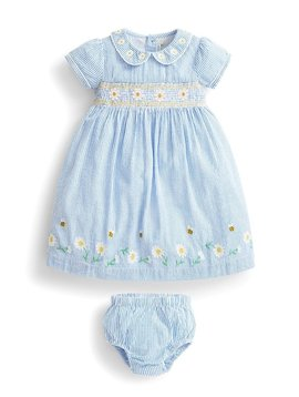 JoJo Maman Bebe Daisy Smocked Dress