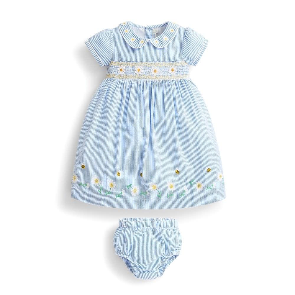 JoJo Maman Bebe Daisy Smocked Dress