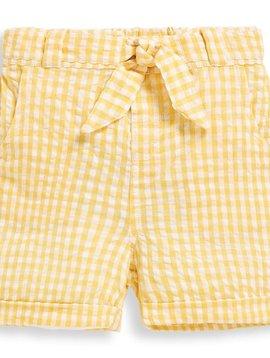 JoJo Maman Bebe Gingham Seersucker Shorts