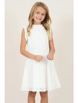 Mini Molly White Lace Dress