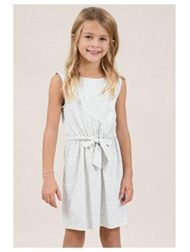 Mini Molly Ash Grey Knit Dress