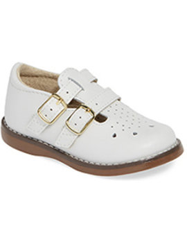 Footmates Danielle Double Buckle Shoe