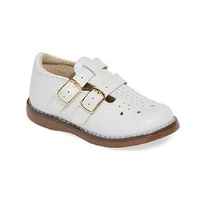 Footmates Danielle Double Buckle Shoe