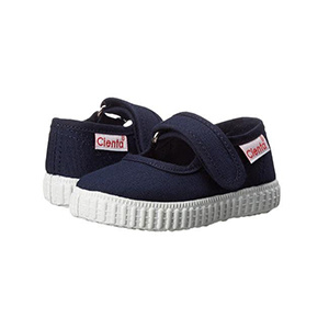 Cienta Navy Canvas Mary Jane