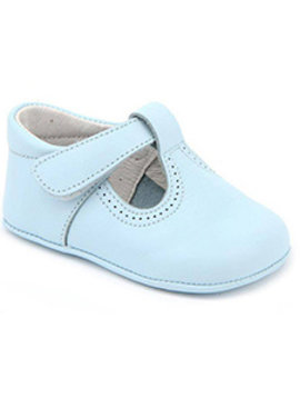 Patucos T-Strap Leather Shoe