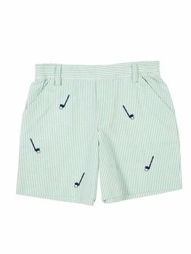 Florence Eiseman Embroidered Golf Shorts