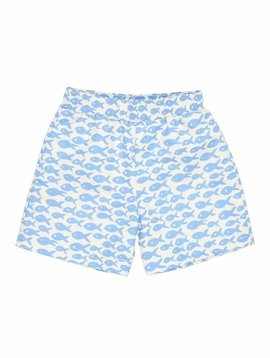 Florence Eiseman Fish Print Swim Trunk