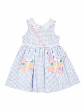 Florence Eiseman Present Pocket Pique Dress