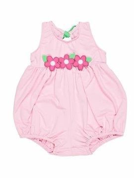 Florence Eiseman Pink Bubble Bottom Swimsuit
