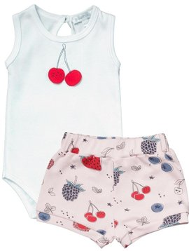 Noomie Berries Short Set