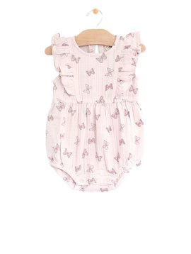 City Mouse Flutter Bubble Romper
