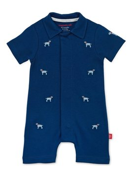 Magnificent Baby Polo Romper