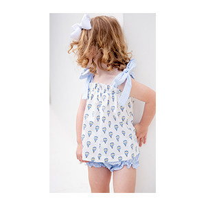 James and Lottie Bailey Hot Air Balloon Bloomer Set