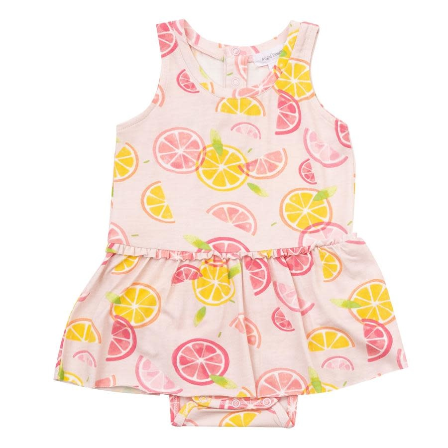 Angel Dear Citrus Skirted Onesie