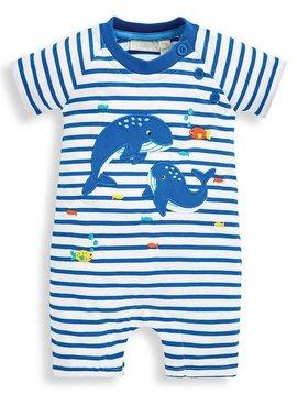 JoJo Maman Bebe Whale Romper