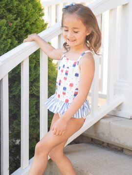 James and Lottie Ice Cream Lainey Swimsuit