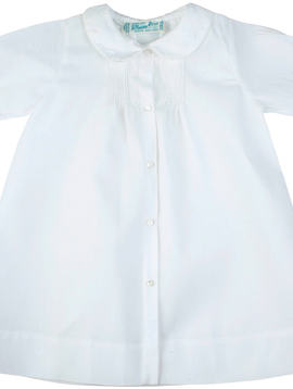 Feltman Brothers White Pleated Daygown