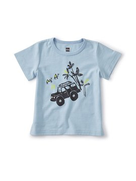 Tea Collection Beep Beep Baby Jeep Tee