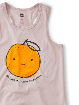 Tea Collection Orange You Happy Tank