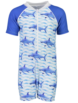 Snapper Rock School of Sharks Sunsuit